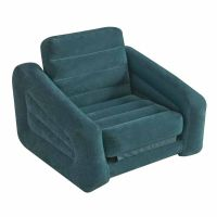 Intex Inflatable Pull-Out Chair and Twin Bed Air Mattress ...