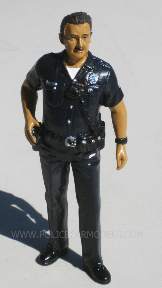 Diecast Vehicles Toys American Diorama 1/24 Harry Lapd Style Police Officer