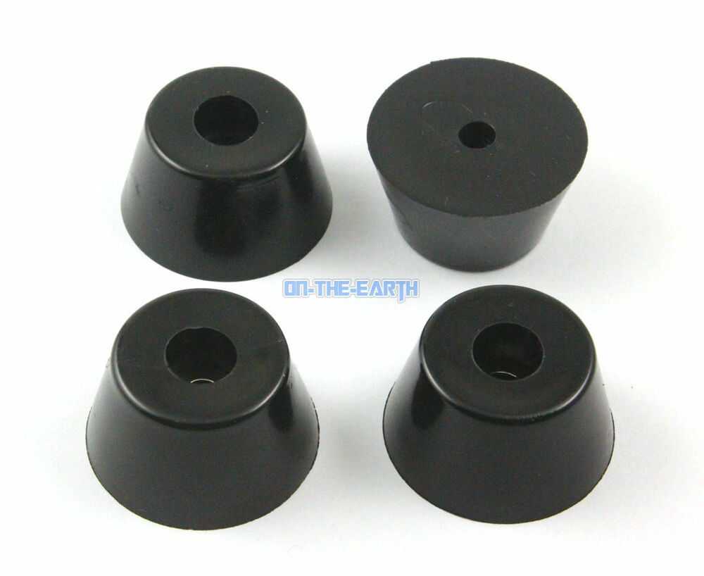 8 Pieces 40x30x22mm Rubber Feet Pad Furniture Chair Leg