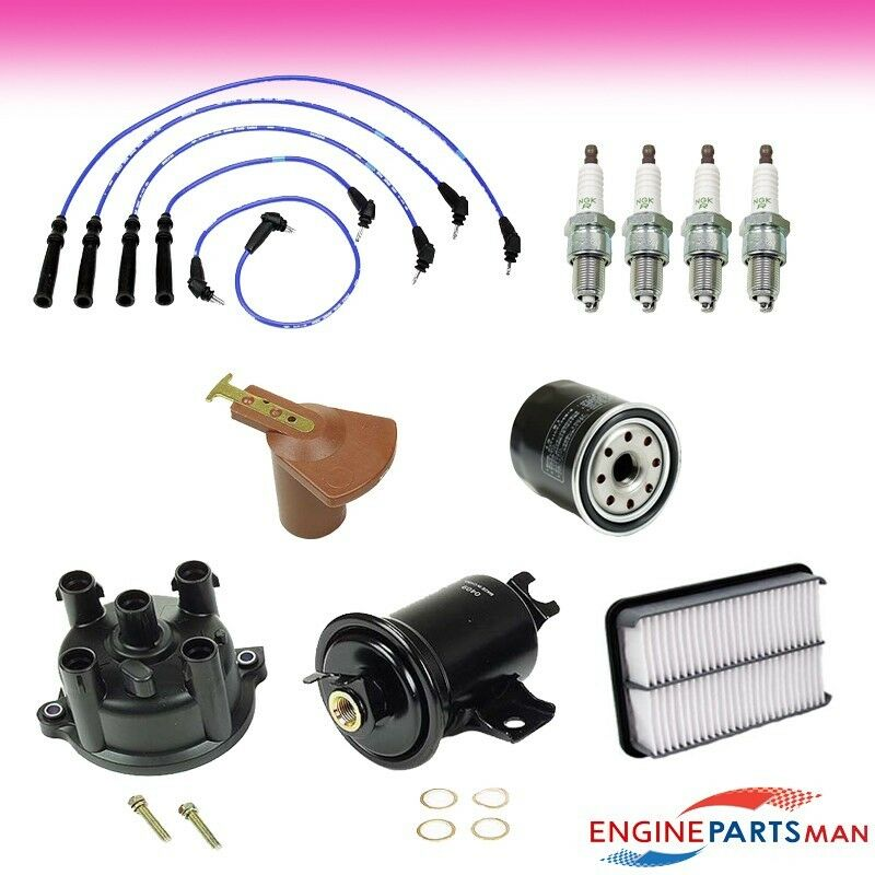 TK Fit 1994 Toyota Pickup 22RE Ignition Tune Up Kit, Air Fuel Filter