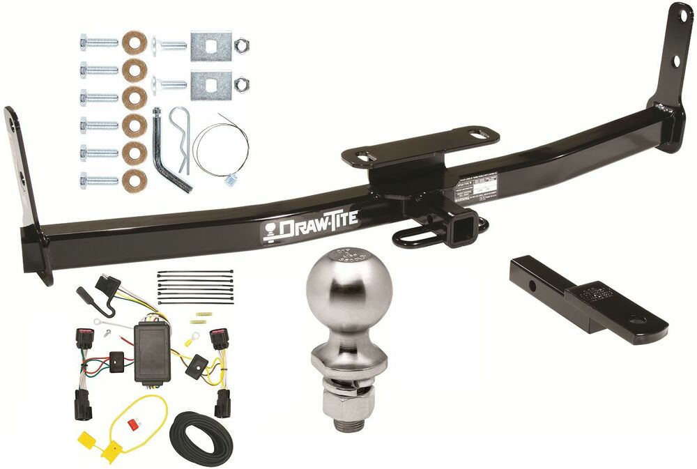 COMPLETE TRAILER HITCH PKG W/ WIRING KIT FOR 2010-2017 CHEVY EQUINOX