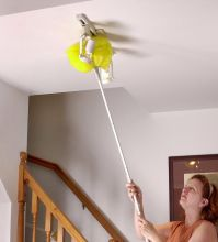 Removable And Washable Microfiber Ceiling And Fan Duster ...