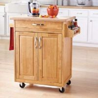 Kitchen Carts And Islands Rolling Cupboard Cabinet Table ...
