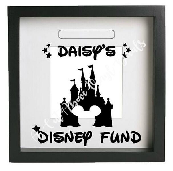 Ikea Ribba Personalised Disney Fund Vinyl Decal Sticker Only Money