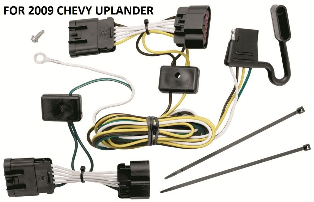 2009 CHEVY UPLANDER TRAILER HITCH WIRING KIT HARNESS PLUG  PLAY