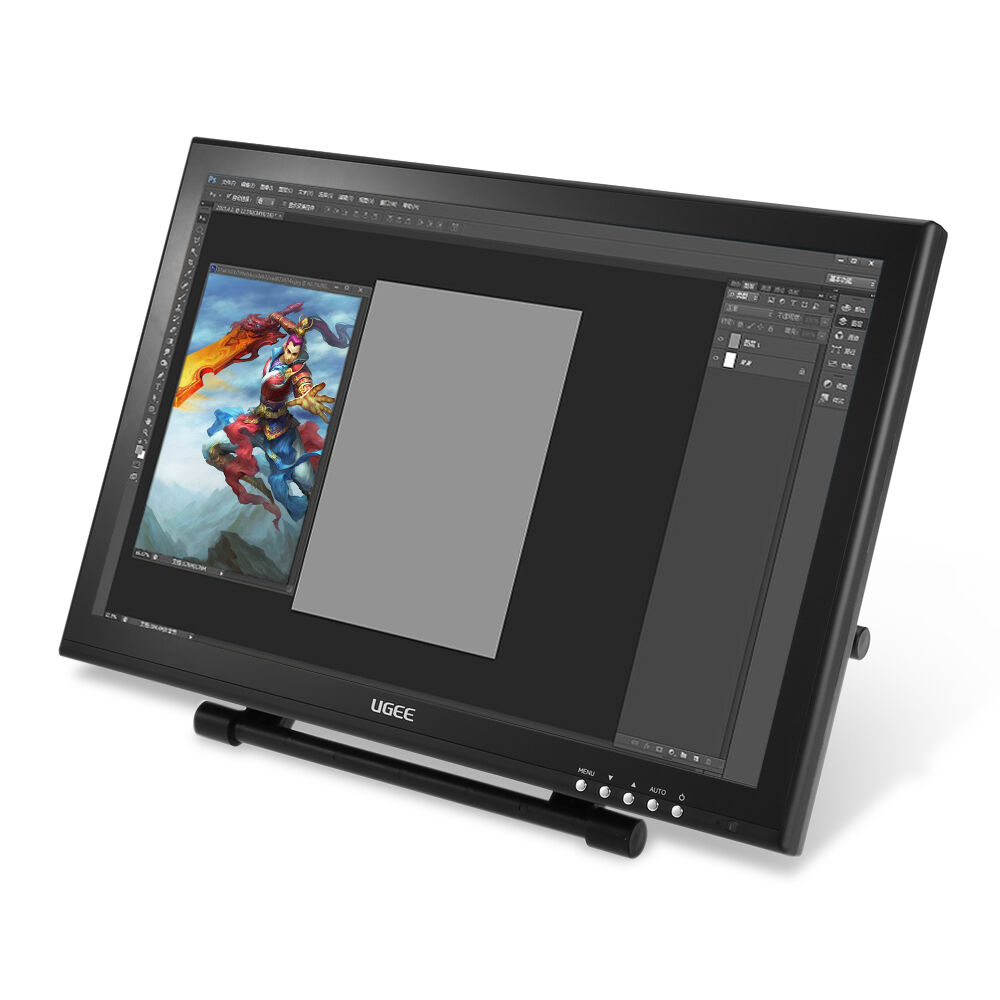 "Design Tablett Ugee Ug-1910b 19"" P50s Pen Smart Graphics Tablet 5080 Lpi"