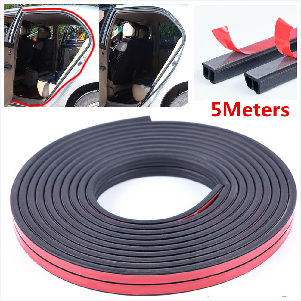Rubber Seal Strip Details About Universal 5m B Type Car Door Edge Trim Rubber Seal Strip Anti Dust Weatherstrip