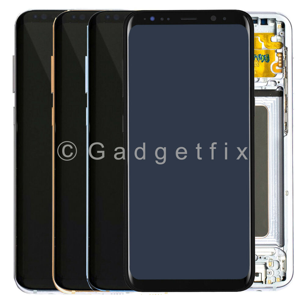 Samsung Screen Samsung Galaxy S8 S9 Plus Lcd Display Touch Screen Digitizer Frame Assembly Ebay