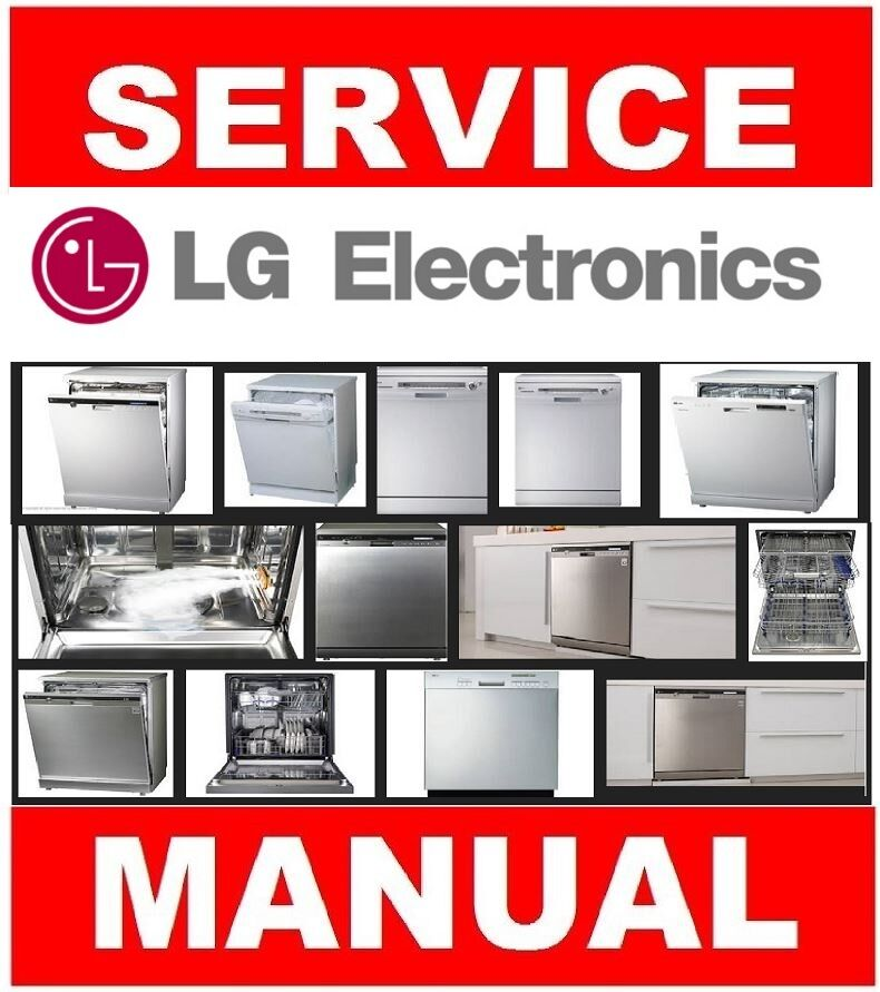 LG Dishwasher Service Manual and Repair Guide Choose from worldwide