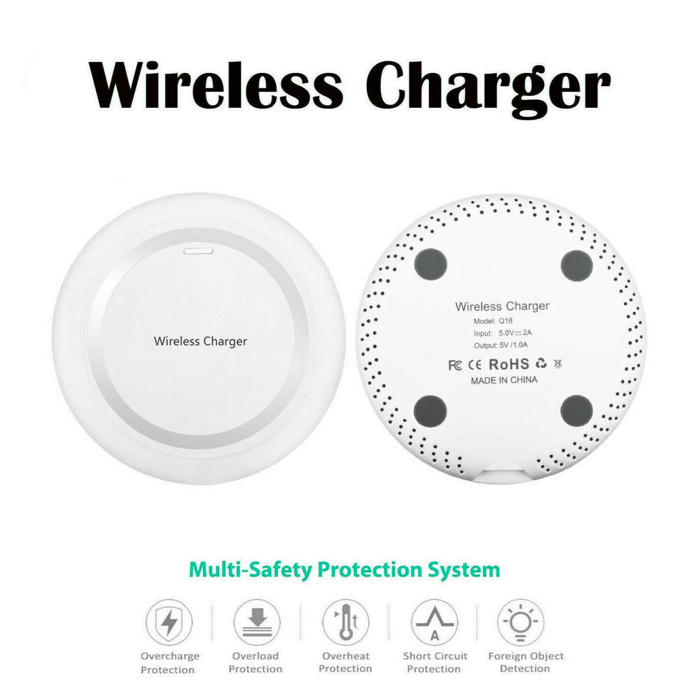 Wireless Battery Charger White Qi Wireless Battery Charger Power Charging Pad For Apple Iphone 5 5c 5s Se 753263519382 Ebay