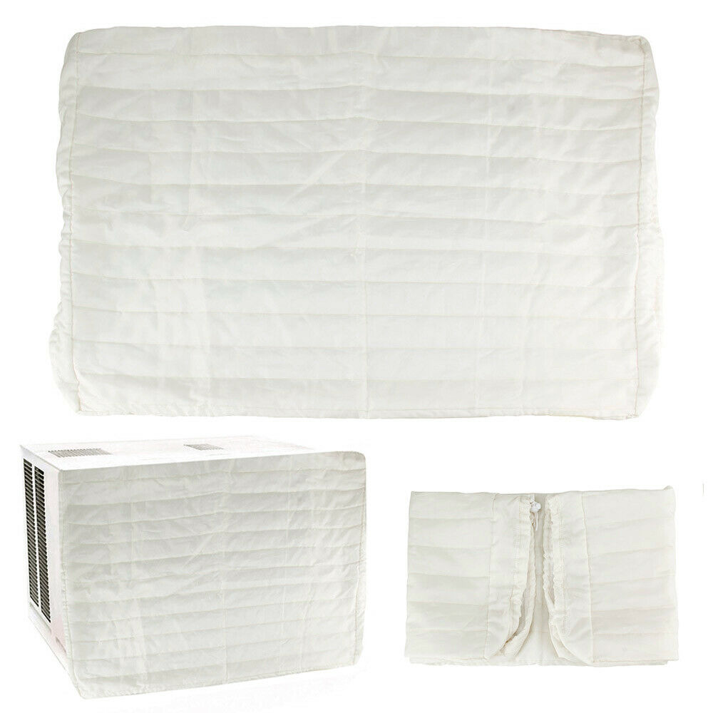 Air Conditioning Covers Indoor Air Conditioner Cover Quilted Elasticized Covers Protect Air Condition 77578030548 Ebay