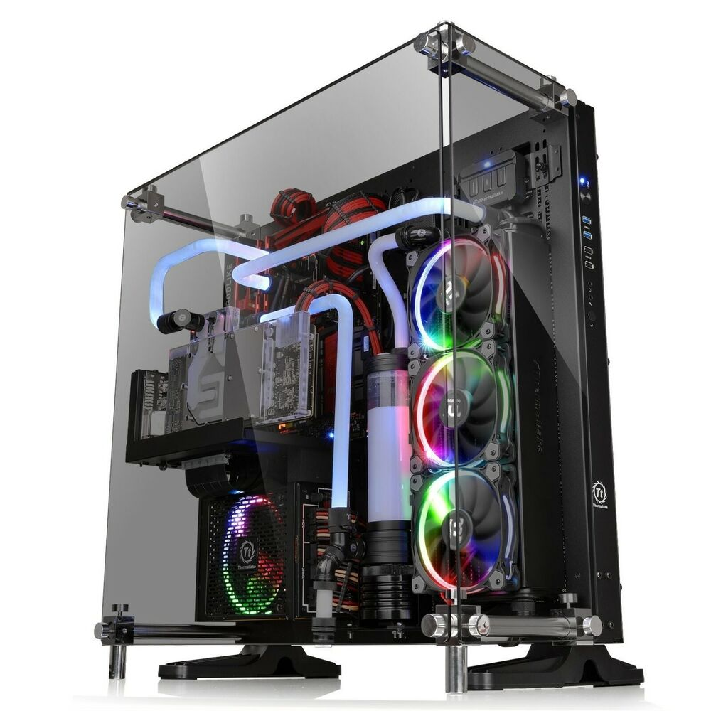 Case Pc Gaming Pc Case Computer 5mm Tempered Glass Atx Open Frame Thermaltake Core P5 841163066287 Ebay