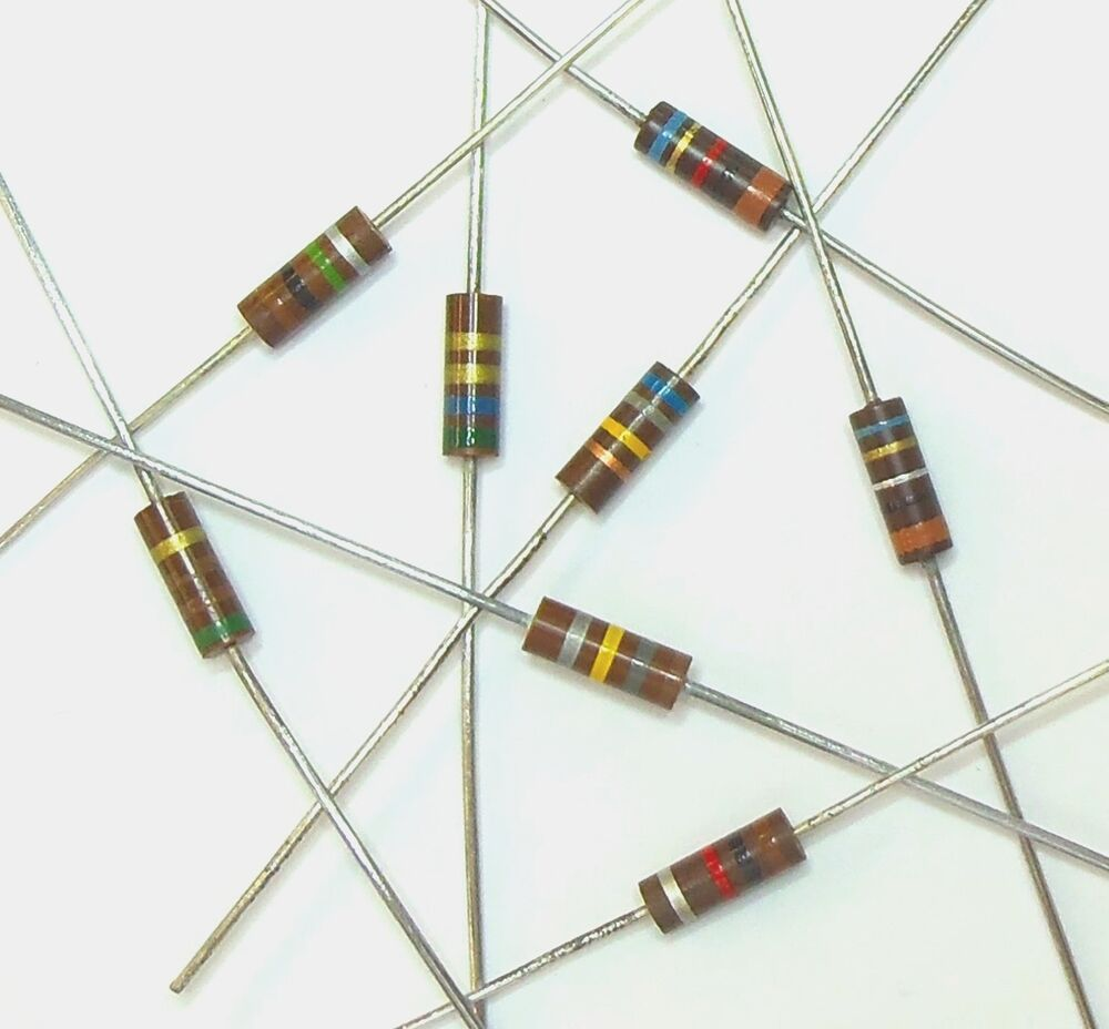 Carbon Resistors 62 Ohm 1/2w 5% Carbon Composition Resistor (lot Of 10