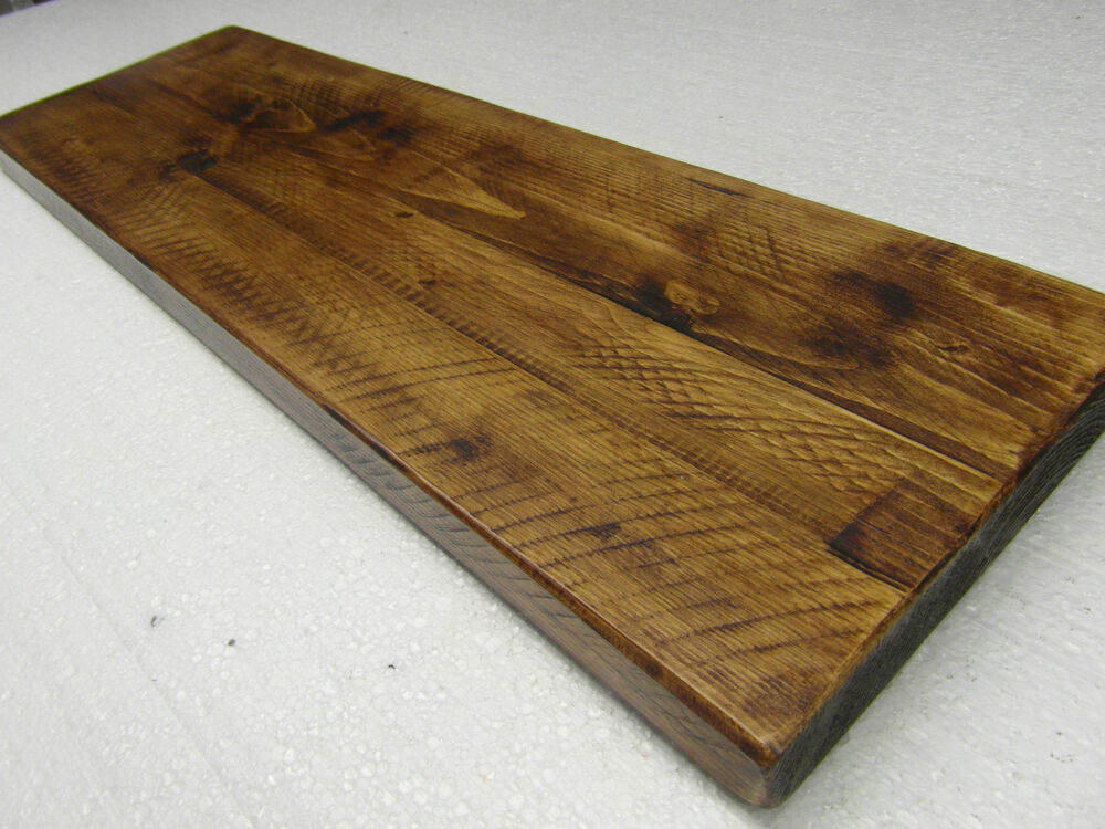 12quot 300mm Deep Floating Shelves Reclaimed Alcove Chunky
