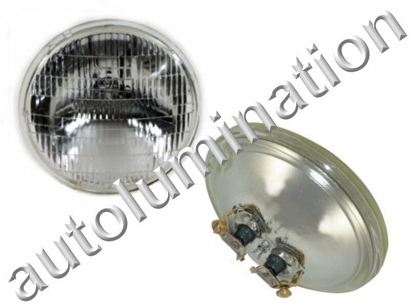 Spotlamp Led New 4411-1 Clear 12 Volt Par36 Sealed Beam Bulb Headlight
