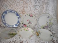 6 ANTIQUE/VINTAGE HAND PAINTED PLATES ~ NIPPON CHINA~ | eBay