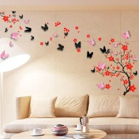 Wall Sticker Mural Decal Paper Art Decoration Blossom ...
