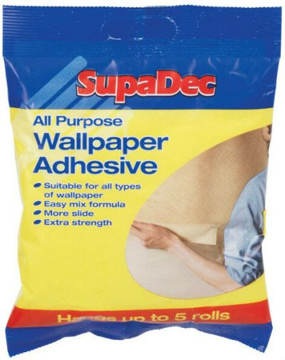 SupaDec Extra Strength All Purpose Powder Wallpaper Paste Adhesive - 3 Rolls | eBay