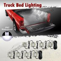 8PC White LED Truck Bed/Rear Work Box Lighting Kit Trunk ...