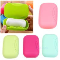 New Travel Soap Dish Box Case Holder Container Wash Shower ...