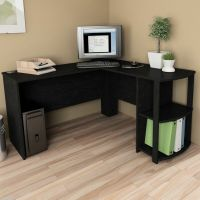 L Shaped Corner Desk Computer Workstation Home Office ...