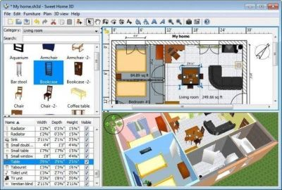 Sweet Home 3D Interior Home Design CAD Software Suite Home Architect Deluxe MAC | eBay