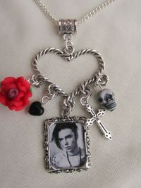 BLACK VEIL BRIDES ANDY BIERSACK NECKLACE | eBay