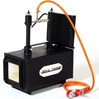 "DFPROF2+1D 2"" Gas Propane Forge for Knifemaking Farriers ..."
