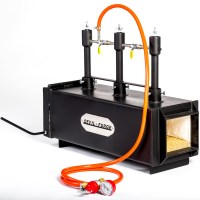 "DFPROF3+1D 2"" Gas Propane Forge for Knifemaking Farriers ..."