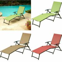Lounger Outdoor Folding Chaise Lounge Chair Patio ...