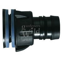 TANK CONNECTOR 25mm bulkhead irrigation pipe fitting ...