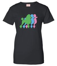 Very Nice Poodles Puppies Dogs Womens T-Shirt Tee | eBay