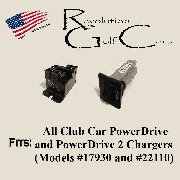 Battery Charger Repair - Relay  Circuit Breaker for PD2 22110 Club