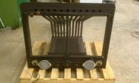 Fireplace Insert Wood Grate Heater Furnace Blower Heat ...