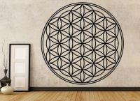 Flower of Life Vinyl Wall Decal - Sacred Geometry Wall Art ...