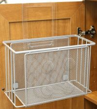 Over The Cabinet Basket Organizer Bath Kitchen Storage ...
