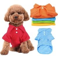 Pet Puppy Summer Shirt Small Dog Cat Pet Clothes Costume ...