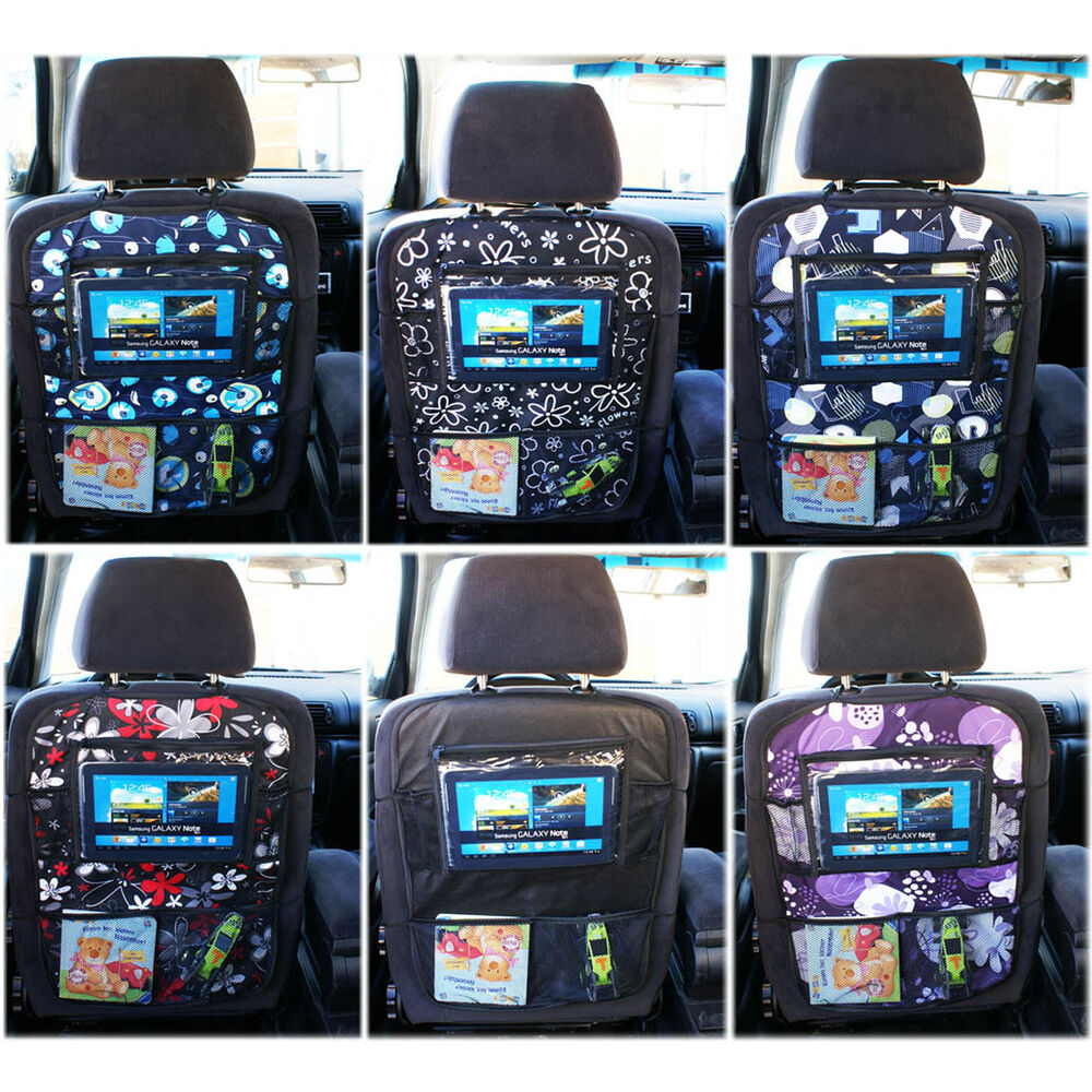 Auto Organizer Tablet Baby Multi Pocket Car Seat Organizer Tablet Auto Cover Protector Travel 10models Ebay