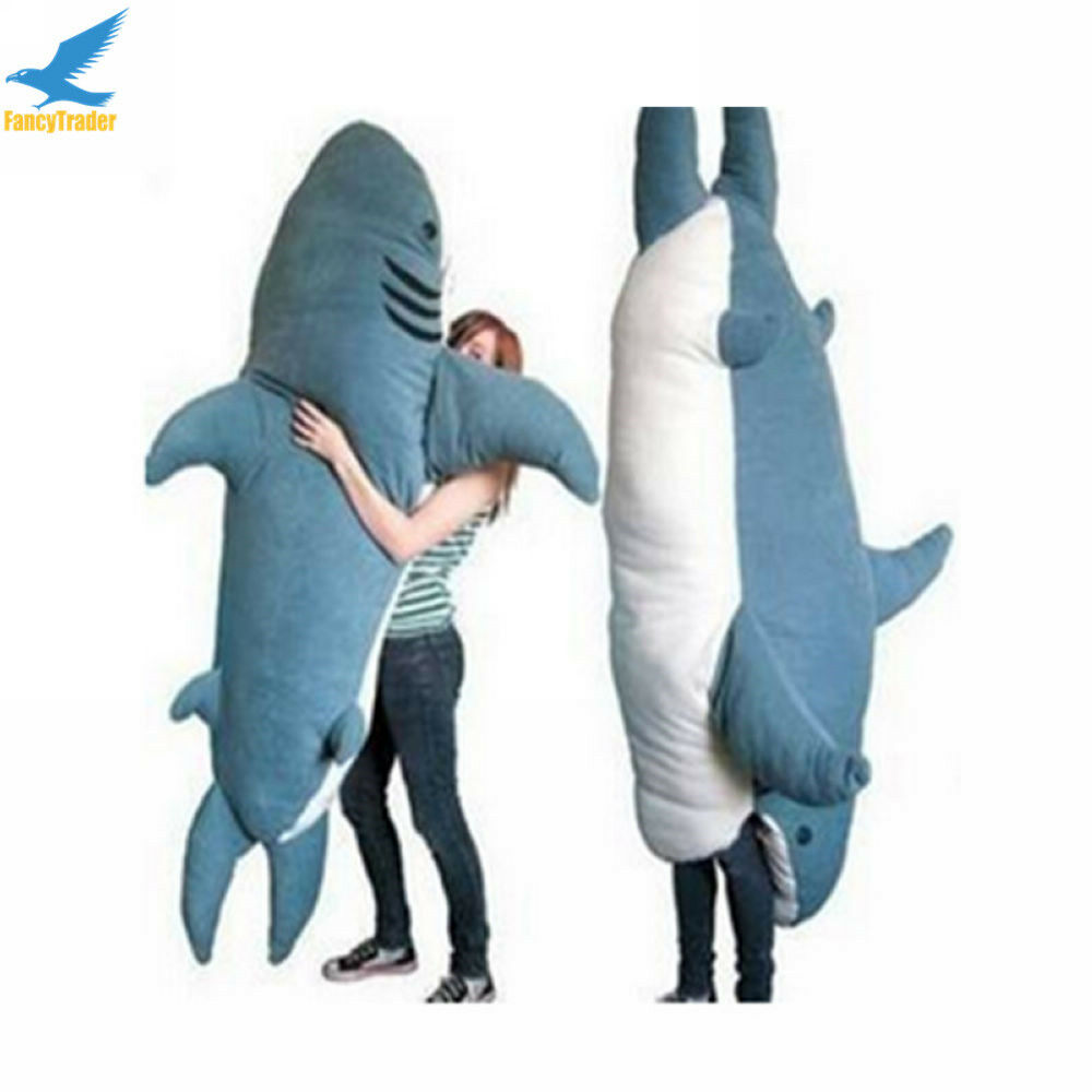 Sofa Bed Giant Malaysia Fancytrader Huge Giant Shark Sleeping Bag Beanbag Sofa Bed Plush
