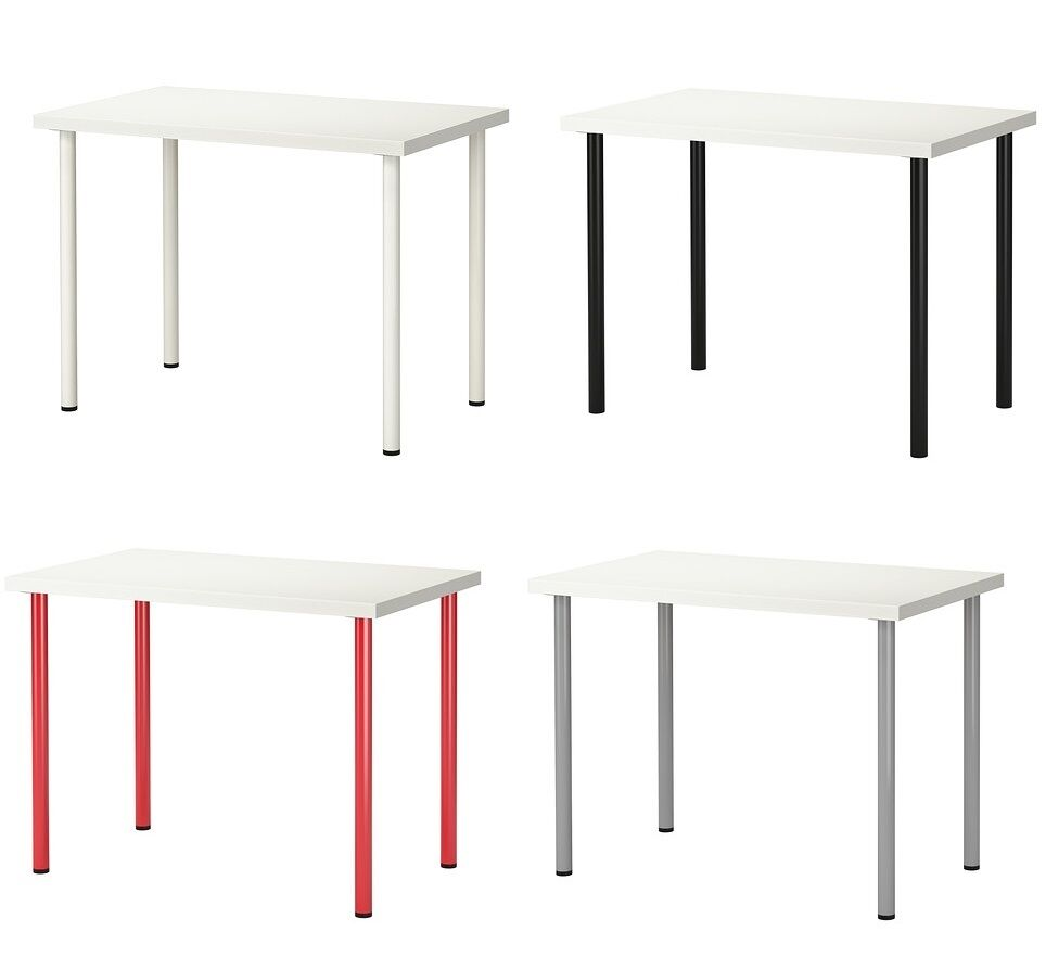 Mesas Para Telefono Ikea Ikea Linnmon Adils Desk Dining Table Home Office Stable Home Rectangular Work Ebay