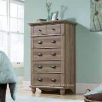 Rustic Dresser Chest Of Drawers For Bedroom Tall Wood ...