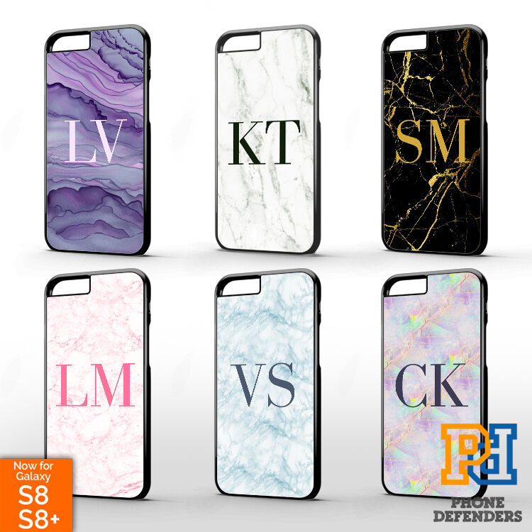 personalised monogrammed marble mobile phone case cover for apple iphone 6s plus