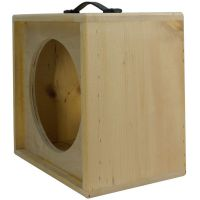 1x12 solid Pine, Raw wood Extension Guitar speaker Empty ...