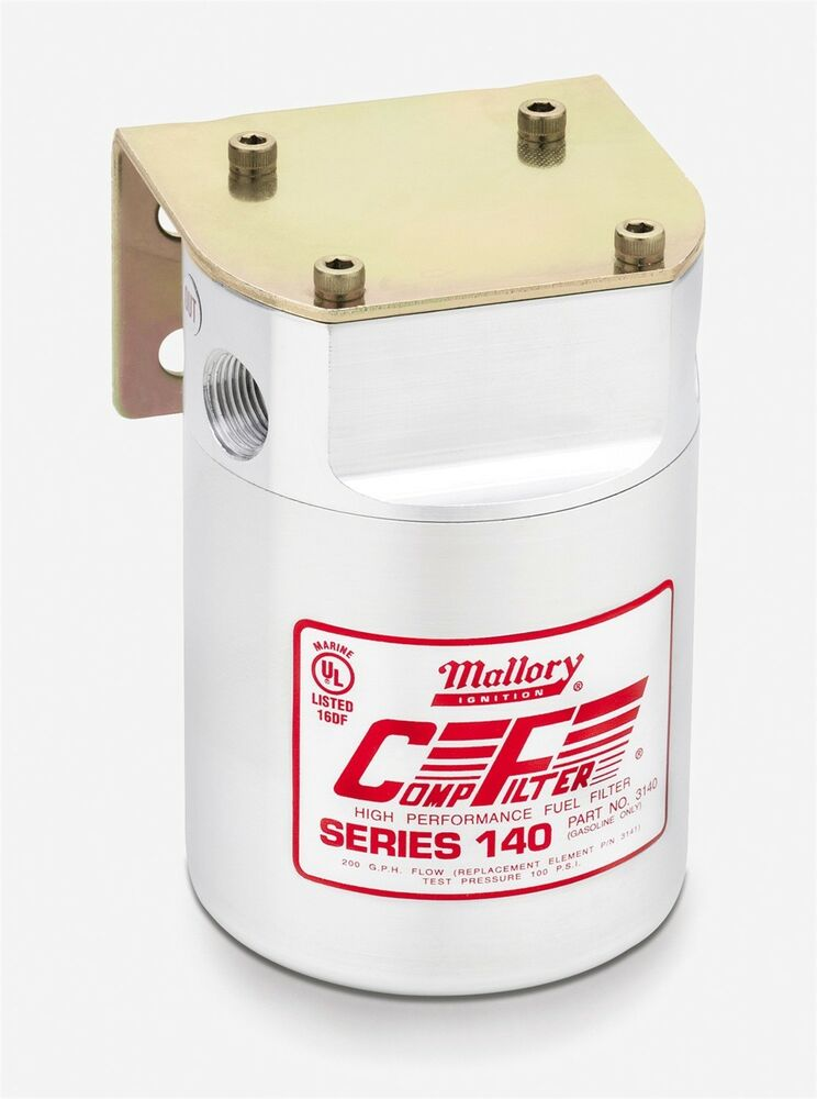Fuel Filter-Comp Filter 140 Series; High Efficiency Mallory 3140 eBay