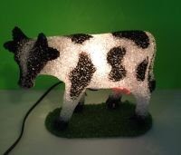 Holstein Cow Heifer Collectible Plastic Lamp Nightlight ...
