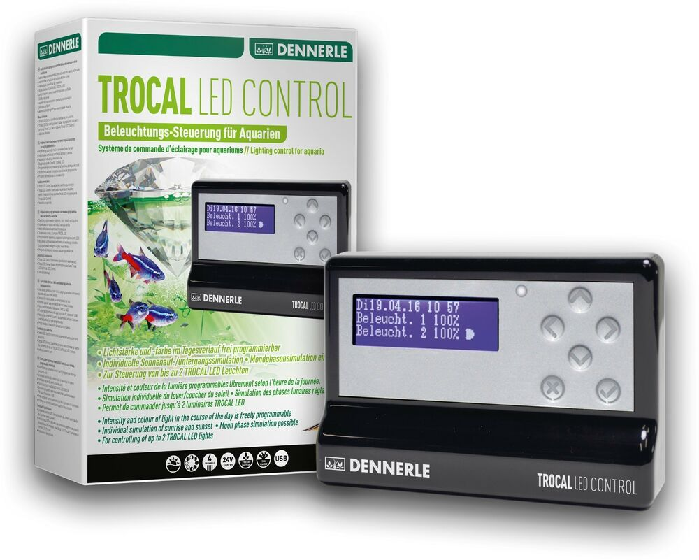 Eclairage Led Dennerle Dennerle Trocal Led Control 4 Channel Controller For Dennerle Aquarium Leds 4001615055641 Ebay