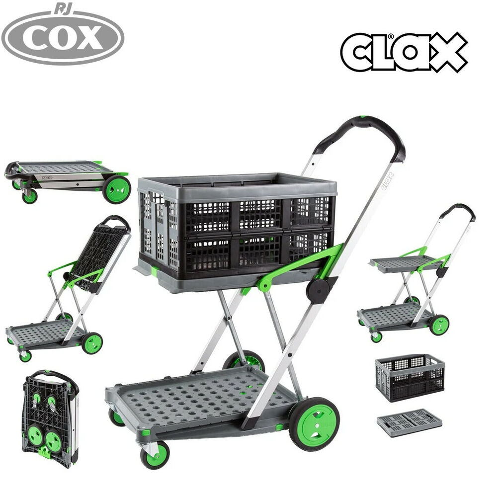 Trolley Kar Clax Cart Collapsible Folding Trolley Ideal For Hospitals