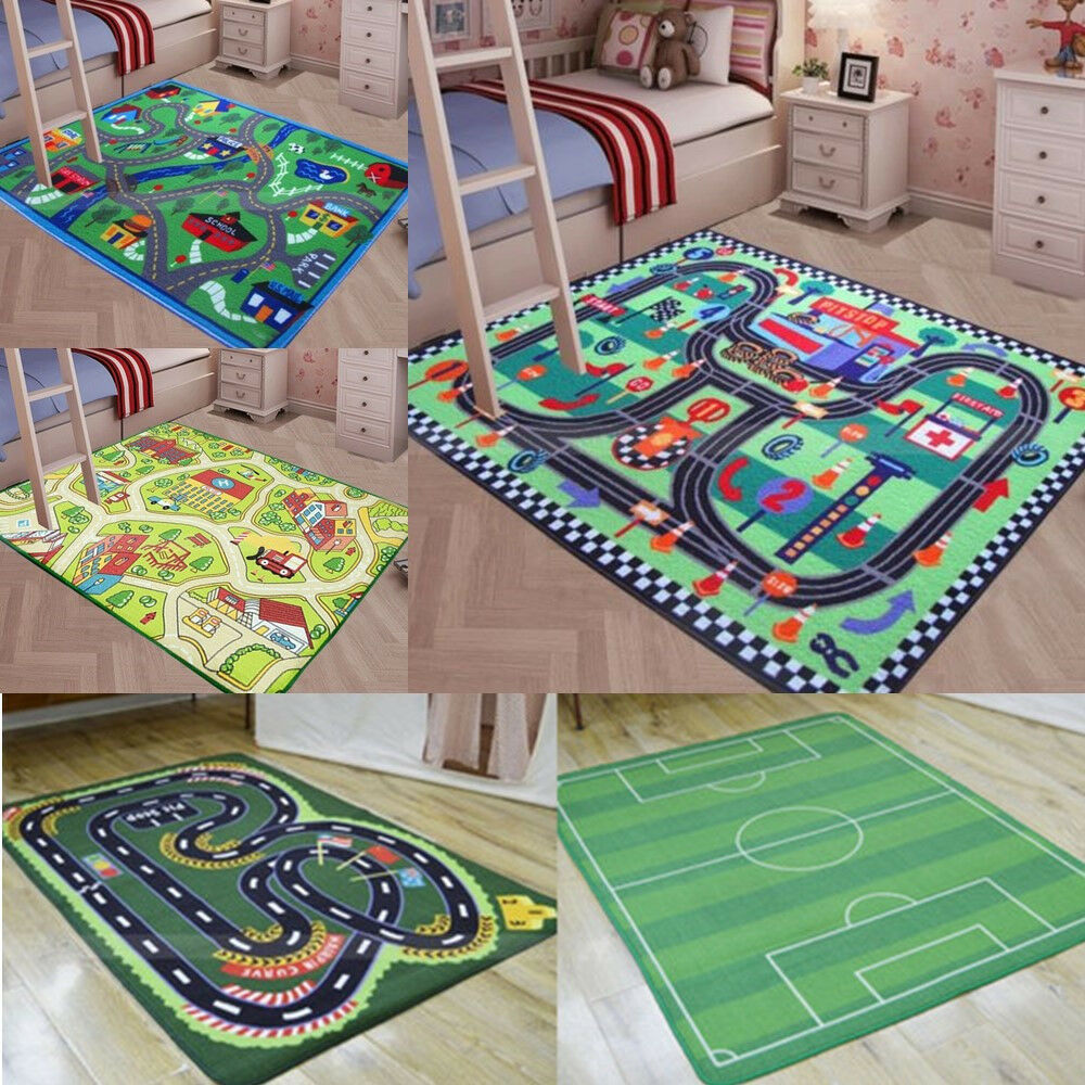 Floor Area Rug Baby Kids Child Play Mat Anti Slip Bedroom