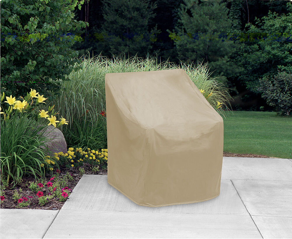 Wicker Furniture Covers Chair Patio Furniture Cover Waterproof Outdoor Protection