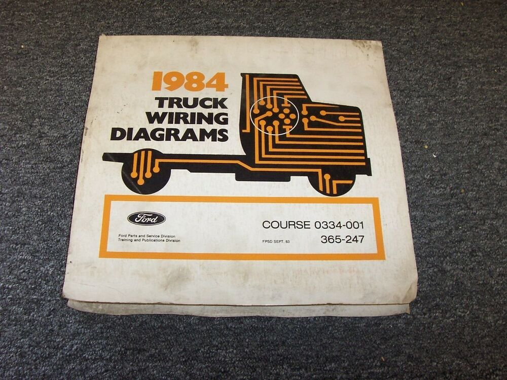 1984 Ford Bronco II 2 Courier Econoline Ranger Electrical Wiring